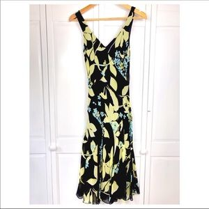 🆕 SILK FLORAL SUMMER DRESS